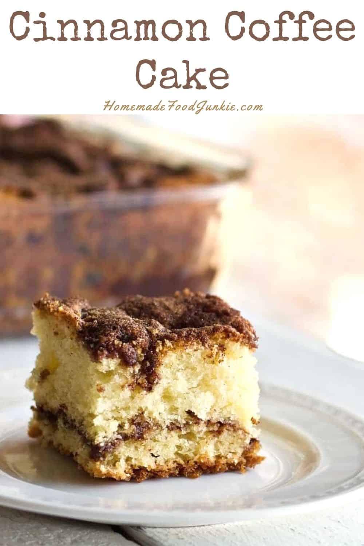 Cinnamon Coffee Cake-Pin Image