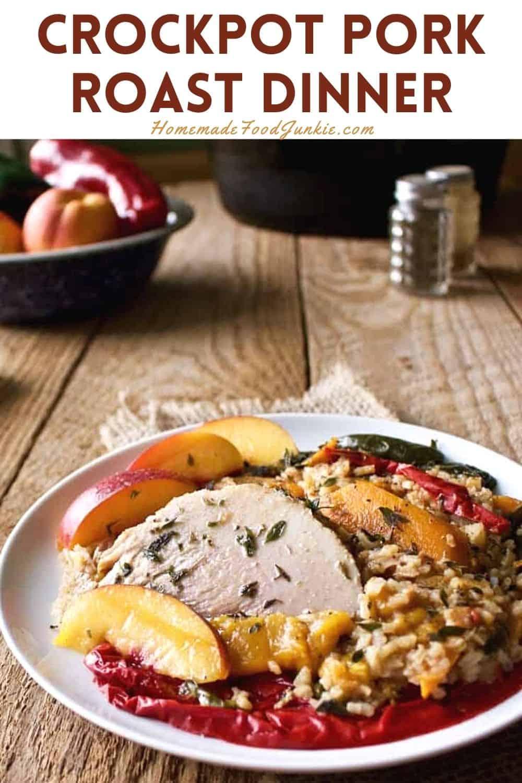 Crockpot Pork Roast Dinner-Pin Image