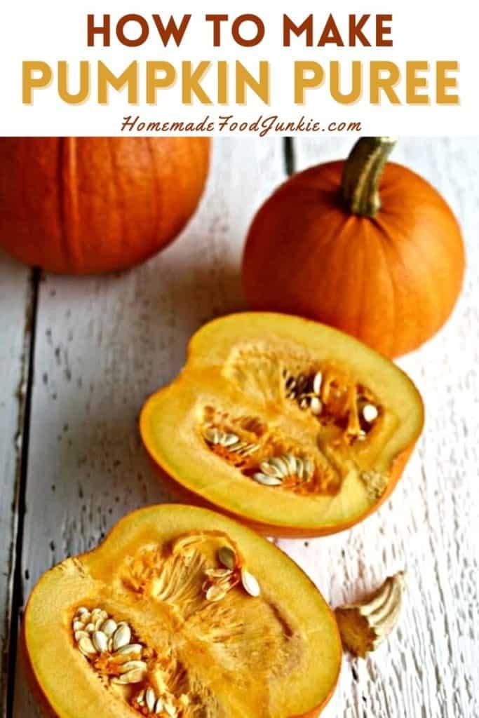 How To Make Pumpkin Puree-Pin Image