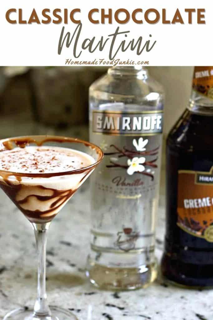 Classic Chocolate Martini-Pin Image