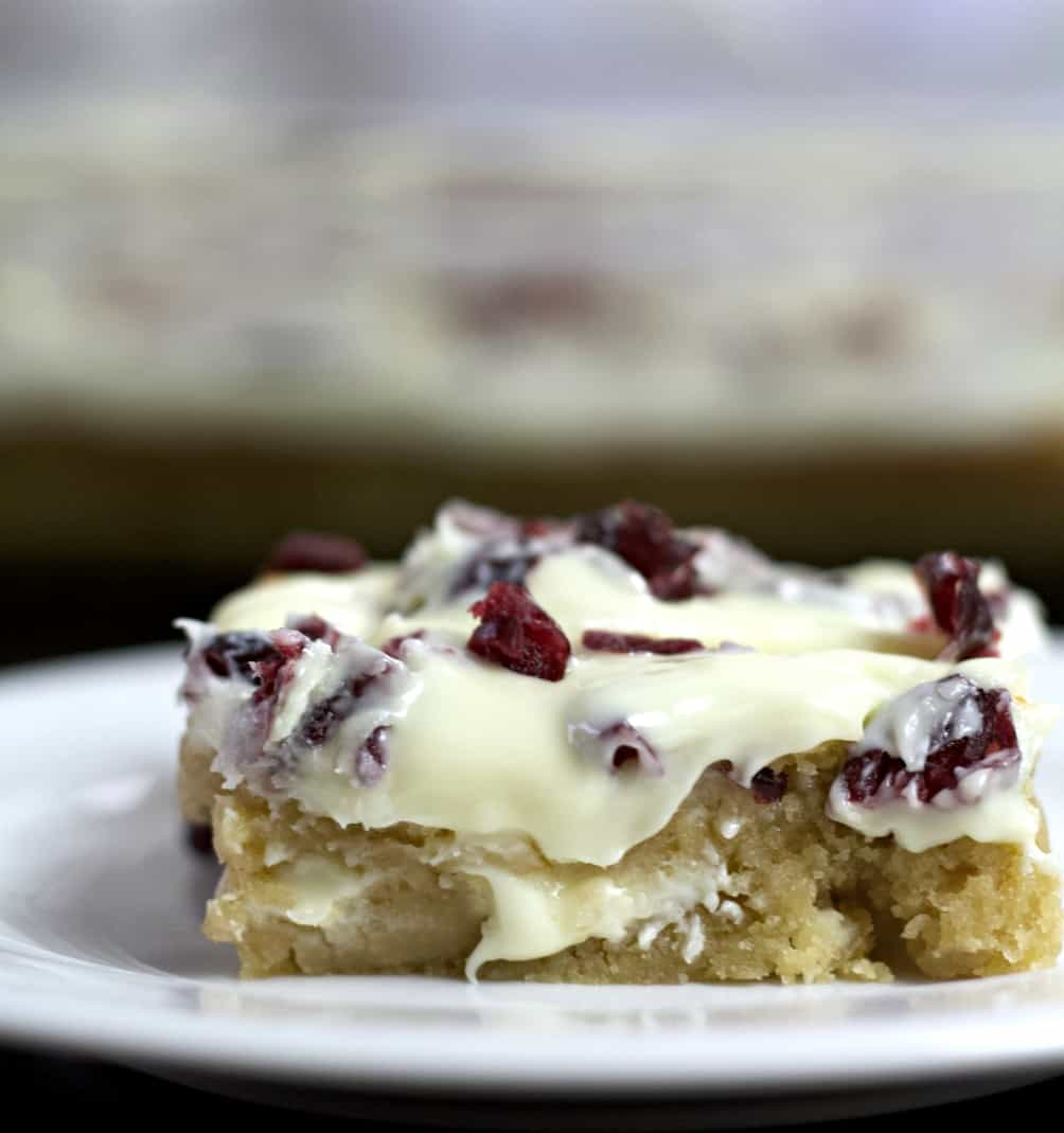 cranberry bliss bar-starbucks copycat