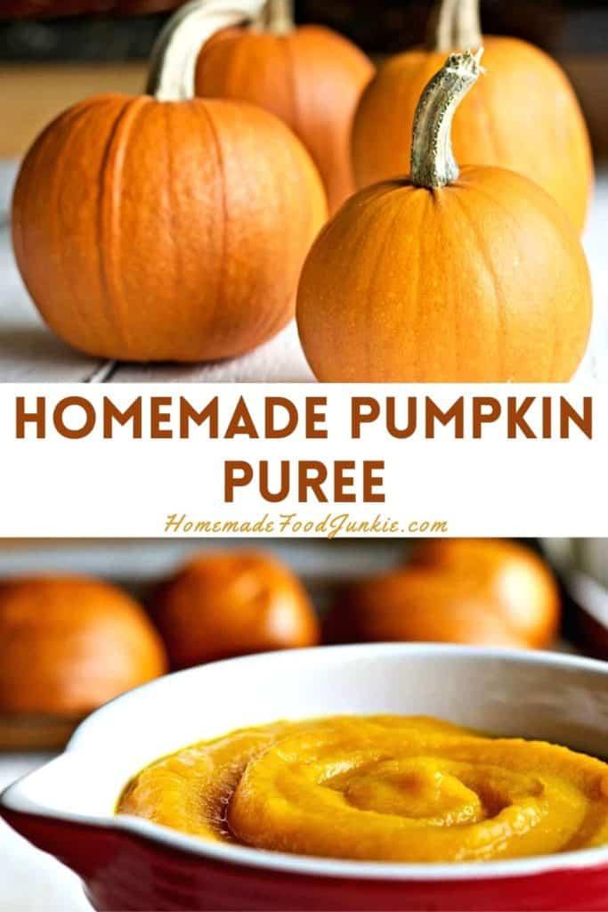 Homemade Pumpkin Puree-Pin Image