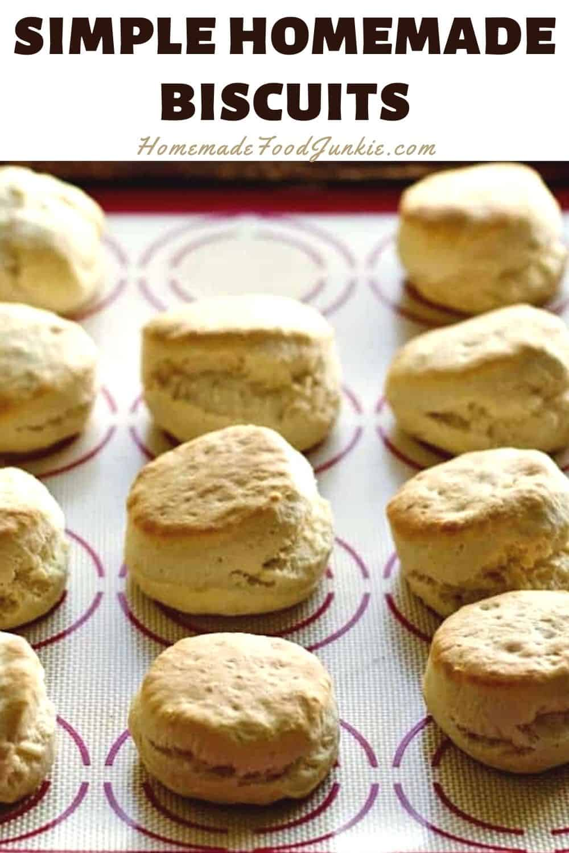 Quick N Easy Baking Powder Biscuits Homemade Food Junkie
