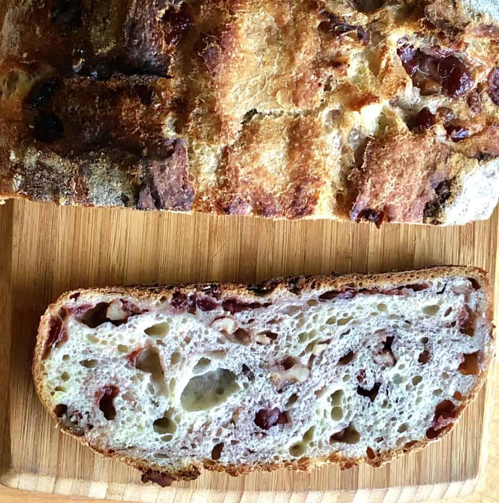 cranberry walnut bread sourdough recipe