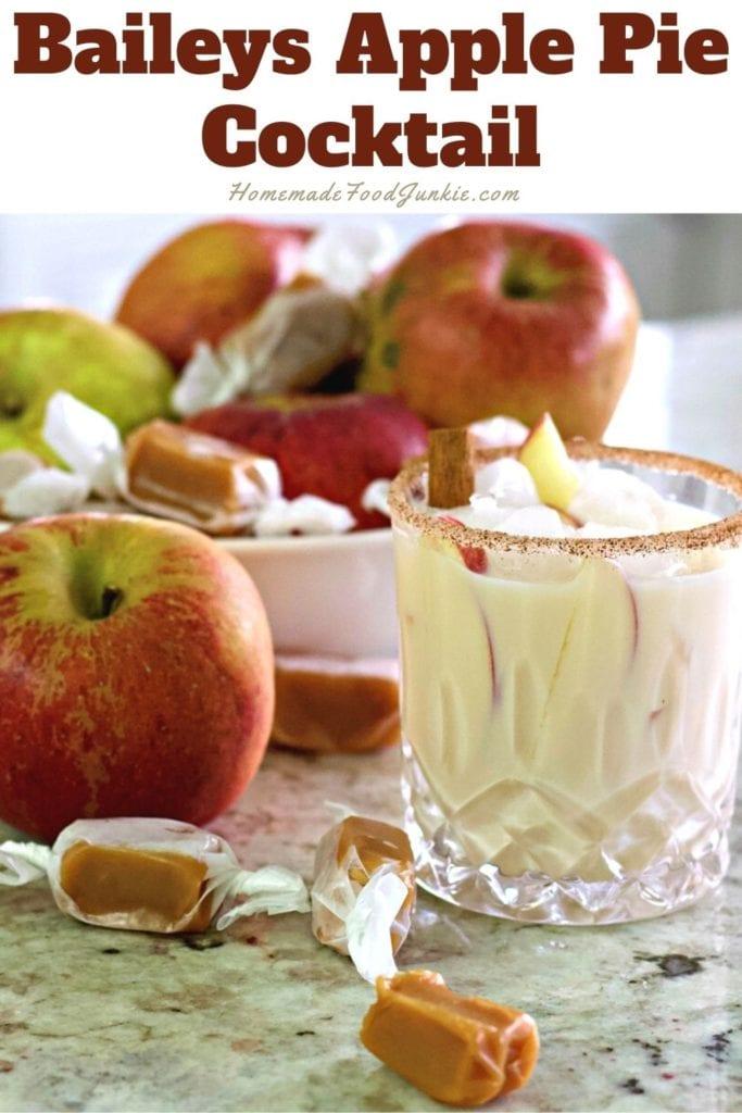 Baileys Apple Pie Cocktail 1