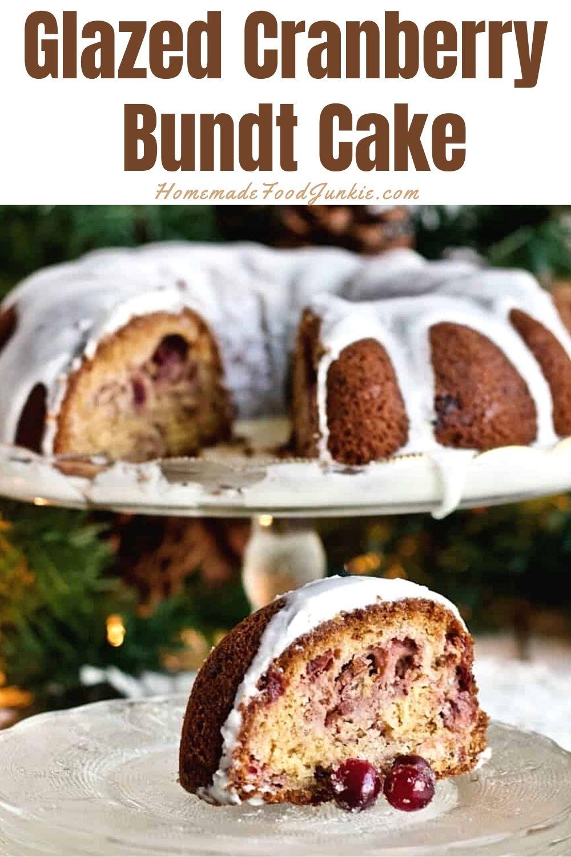 Glazed Cranberry Bundt Cake-Pin Image