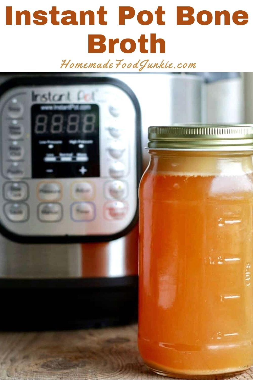 Instant pot bone broth-pin image