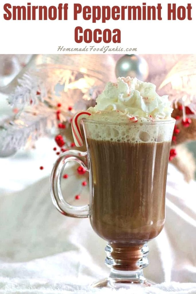 Smirnoff peppermint hot cocoa-pin image