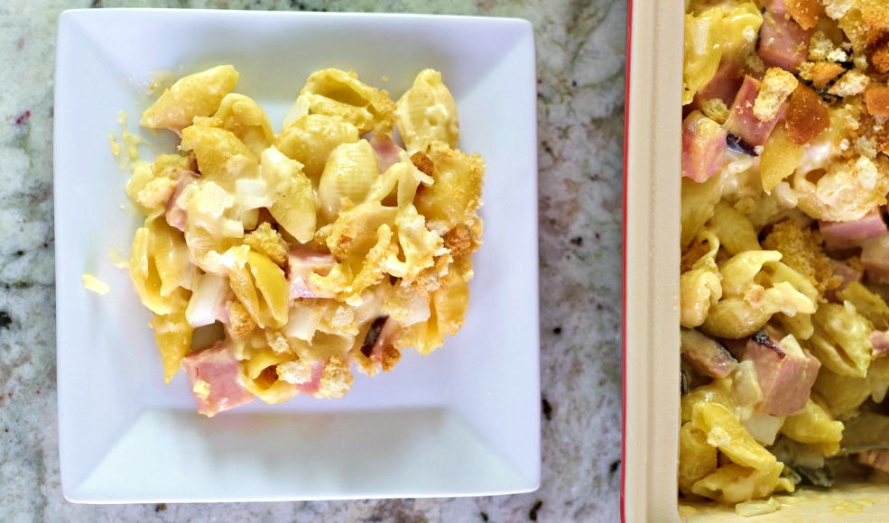 Ham Mac And Cheese Casserole