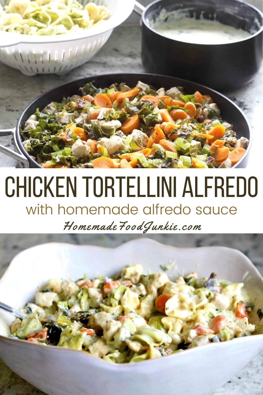 Chicken Tortellini Alfredo-Pin Image