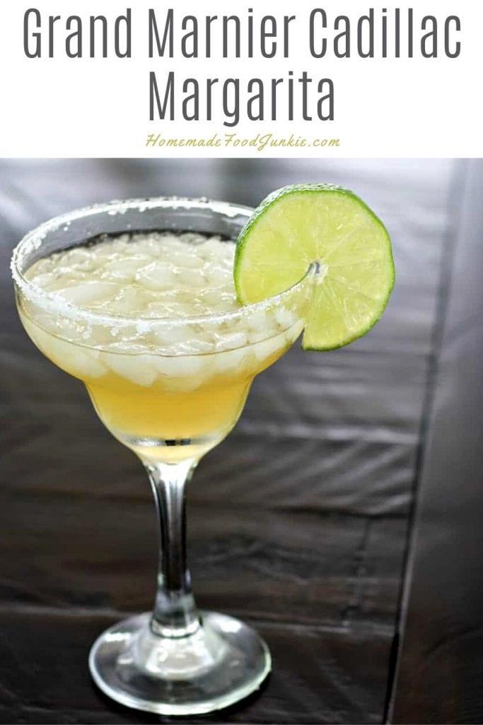 Grand marnier cadillac margarita-pin image