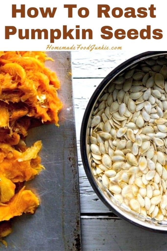 How To Roast Pumpkin Seeds-Pin Image