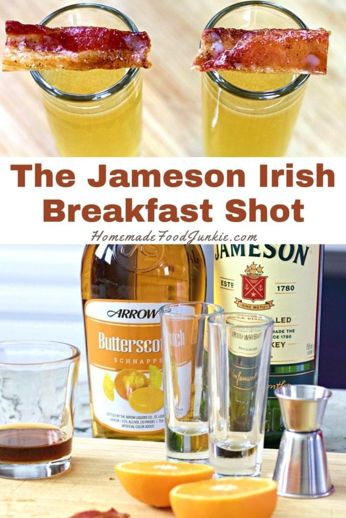 The Jameson Irish breakfast shot-pin image