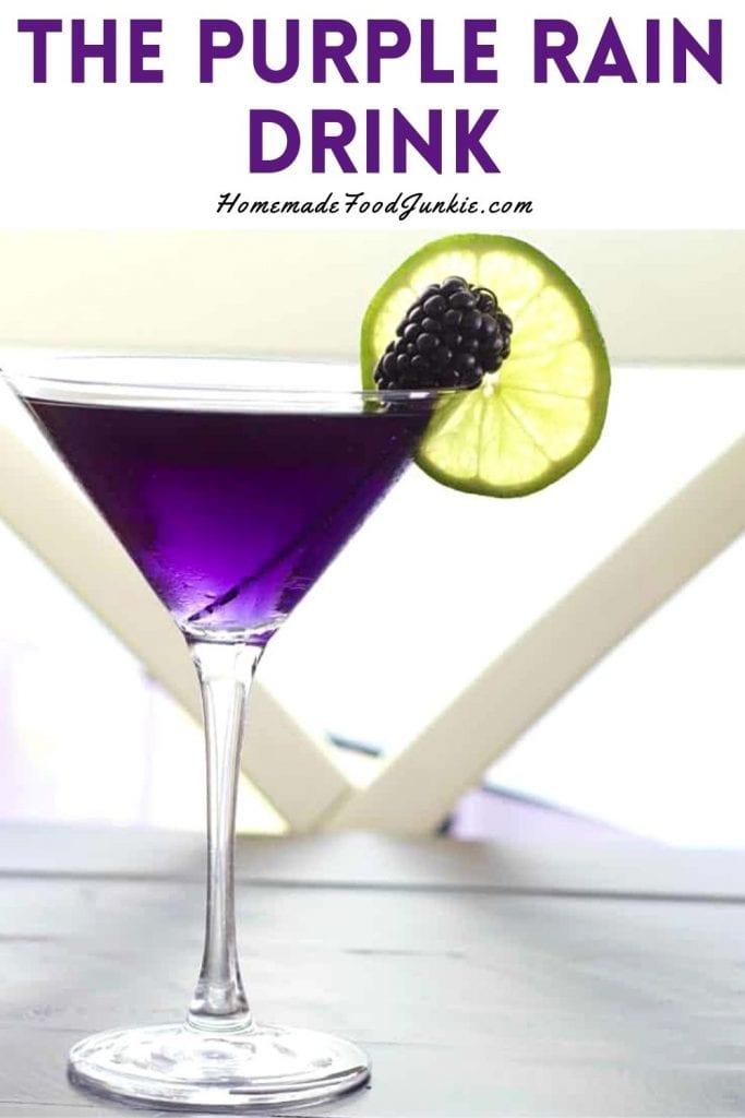 The Purple Rain Drink-Pin Image