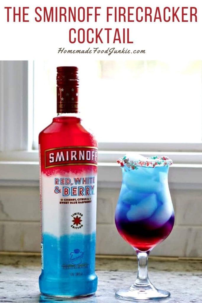 The smirnoff firecracker cocktail-pin image