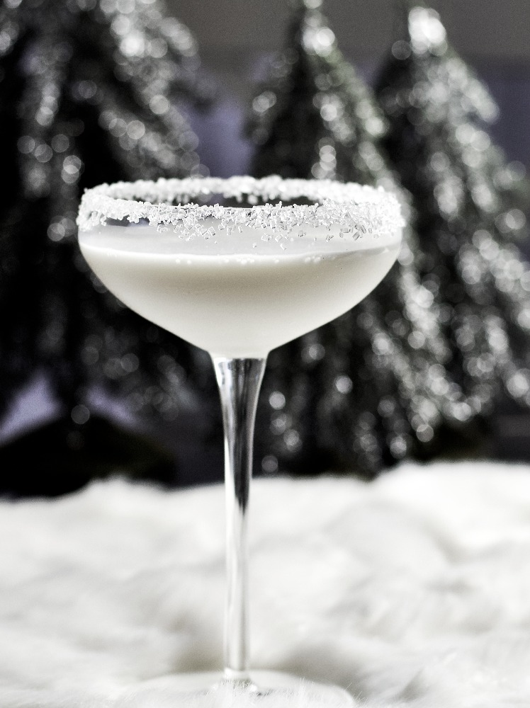 Winter White Rum Cocktail