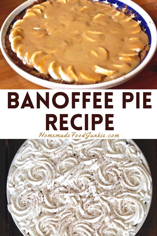 Banoffee Pie Recipe-Pin Image
