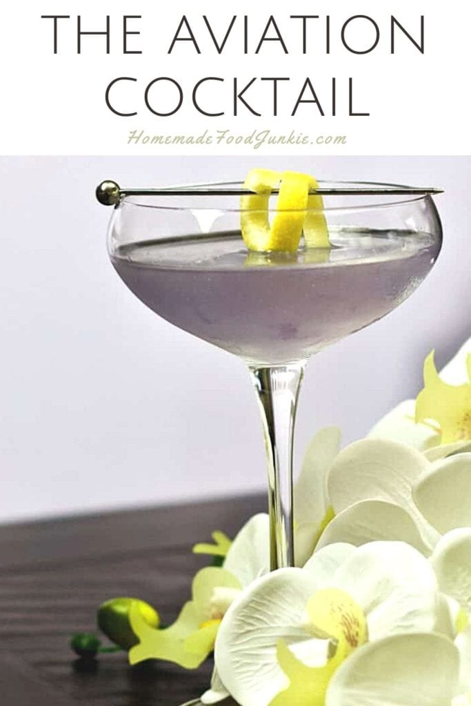 The aviation cocktail-pin image