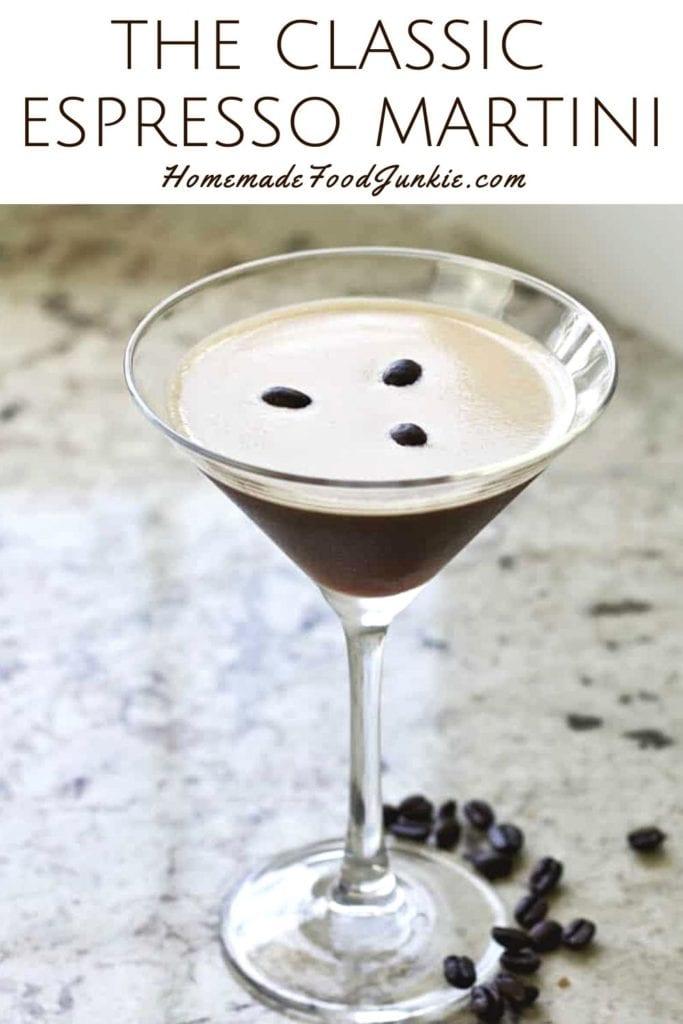 The Classic Espresso Martini-Pin Image