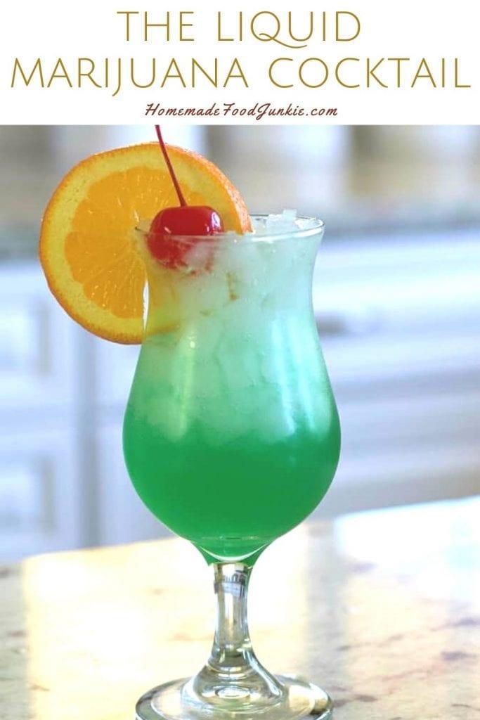 The liquid marijuana cocktail-pin image
