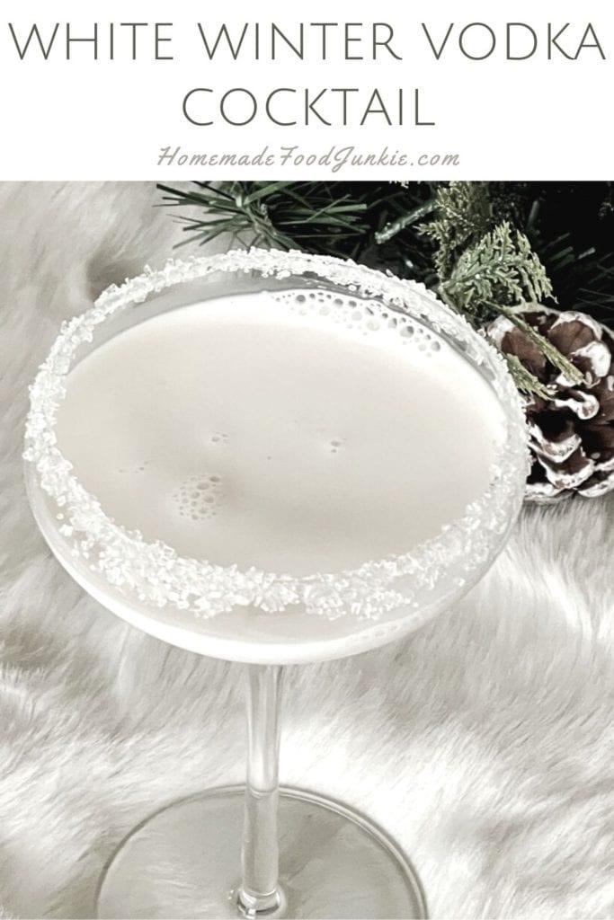 White rum cocktail-pin image