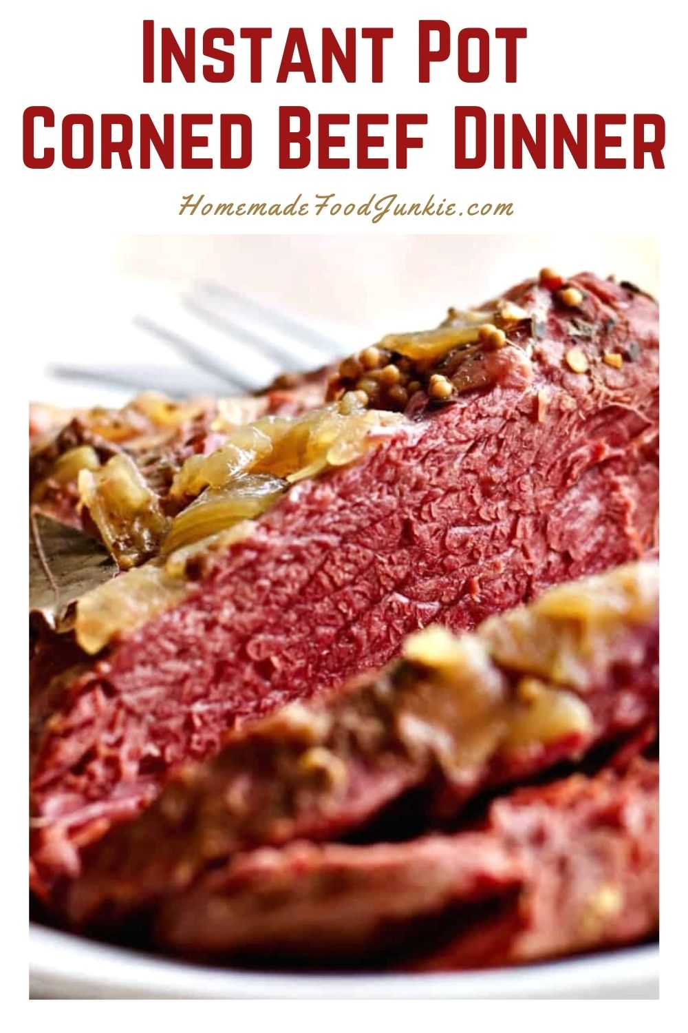 Instant pot corned beef dinner-pin image