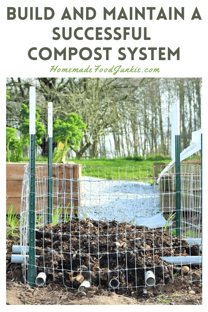 Build and maintain a successful compost system-pin image