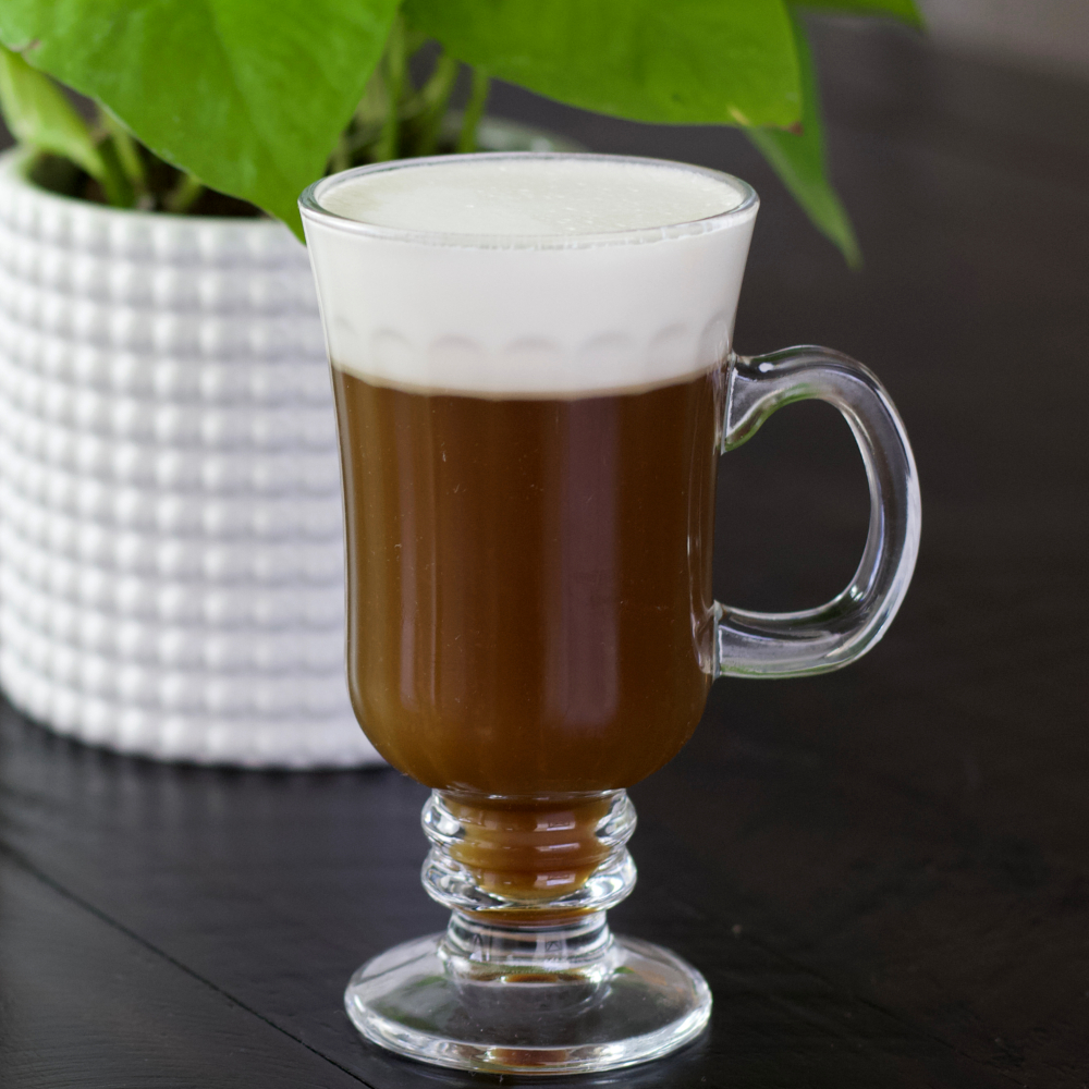 Fron View Of Irish Coffee