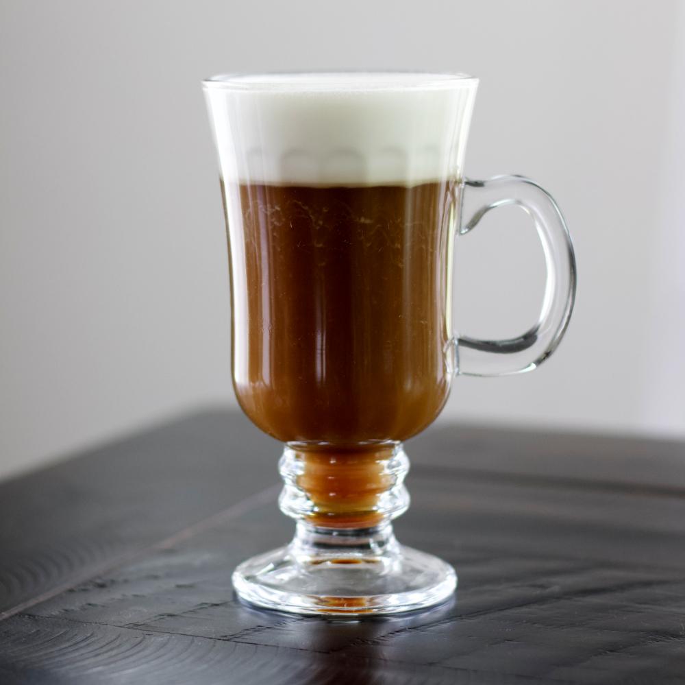 Irish Coffee With Jameson Whiskey