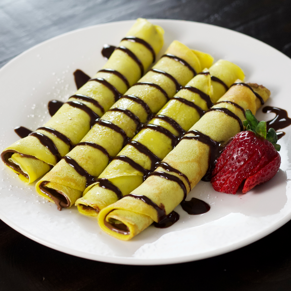 Dessert Crepes-Nutella