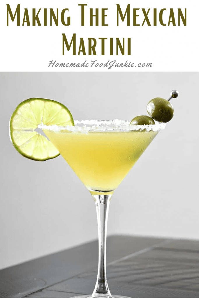 Making The Mexican Martini-Pin Image
