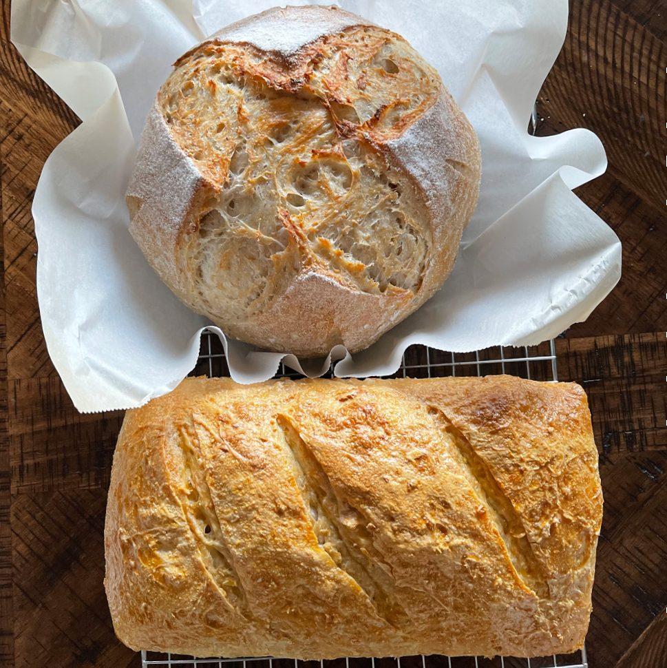 sourdough bread with oatmeal