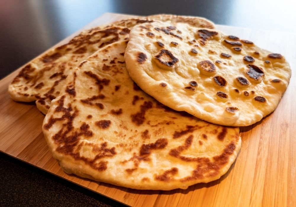 Flatbread made on a griddle