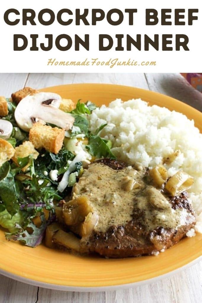 Crockpot Beef Dijon Dinner-Pin Image