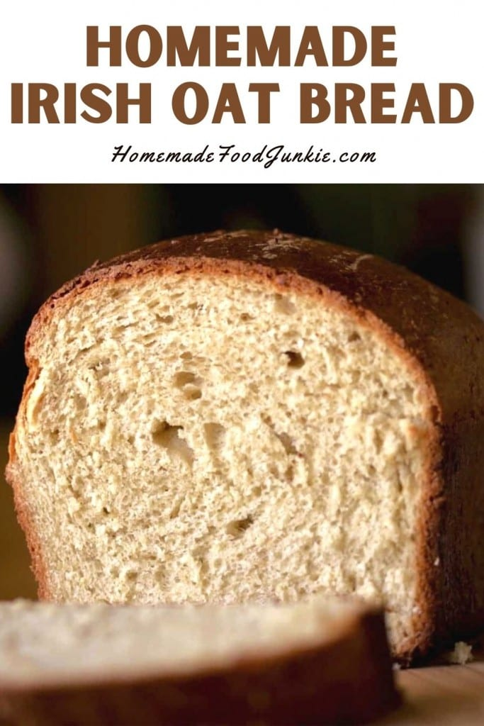 Homemade Irish Oat Bread-Pin Image