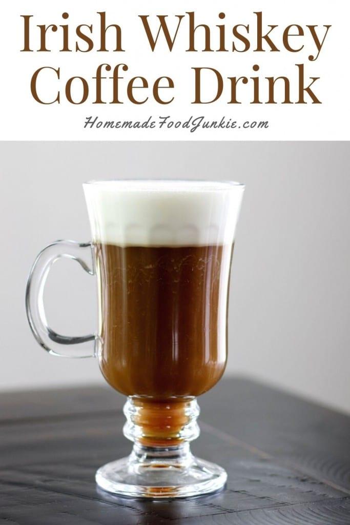 Irish Whiskey Coffee Drink-Pin Image