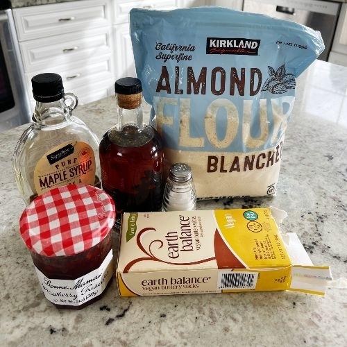 Ingredients For Dairy Free Gluten Free Cookies