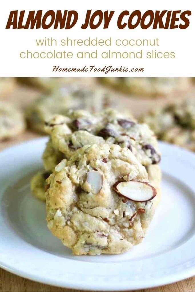 Almond Joy Cookies-Pin Image