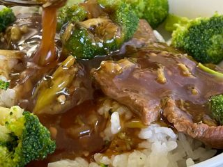 Asian beef and broccoli Instant pot dinner