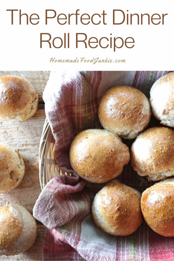 The Perfect Dinner Roll Recipe-Pin Image