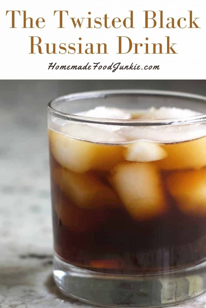 The Twisted Black Russian Drink-Pin Image