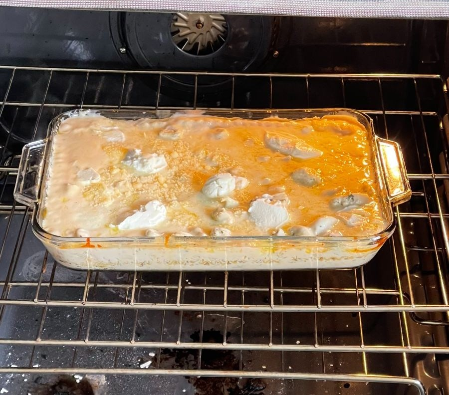 Chicken Lasagna Browning
