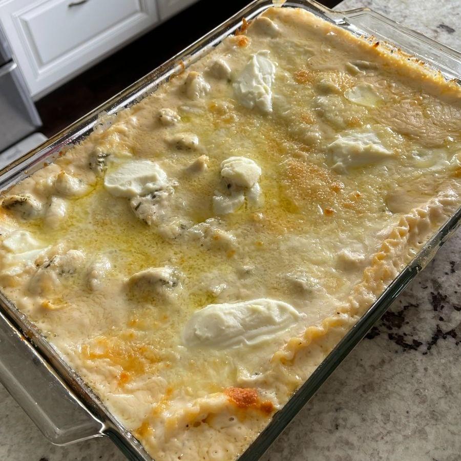 Baked Chicken Lasagna