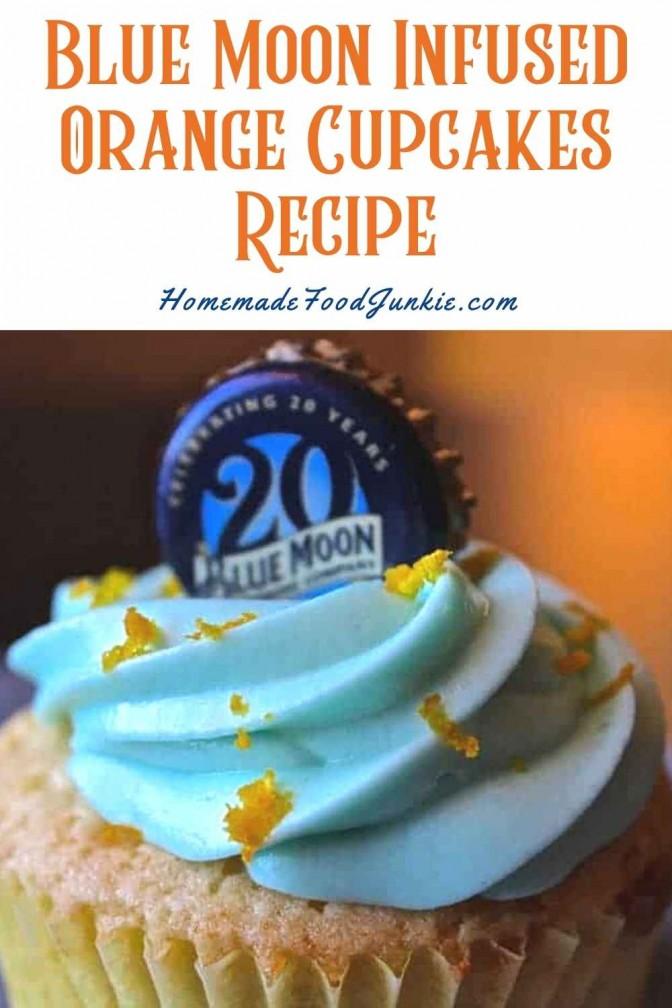 Blue Moon Infused Orange Cupcakes Recipe-Pin Image