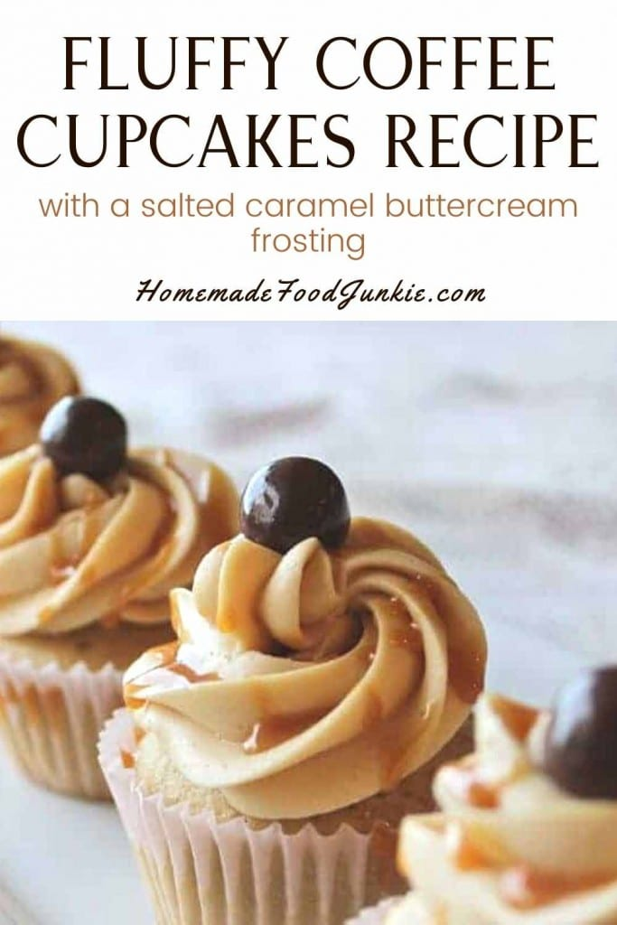 Fluffy Coffee Cupcakes Recipe-Pin Image