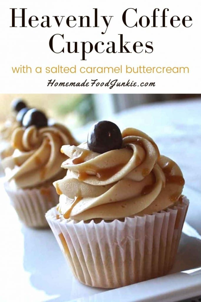 Heavenly Coffee Cupcakes-Pin Image