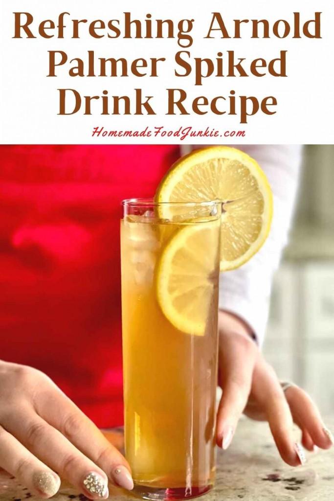 Refreshing Arnold Palmer Spiked Drink Recipe-Pin Image