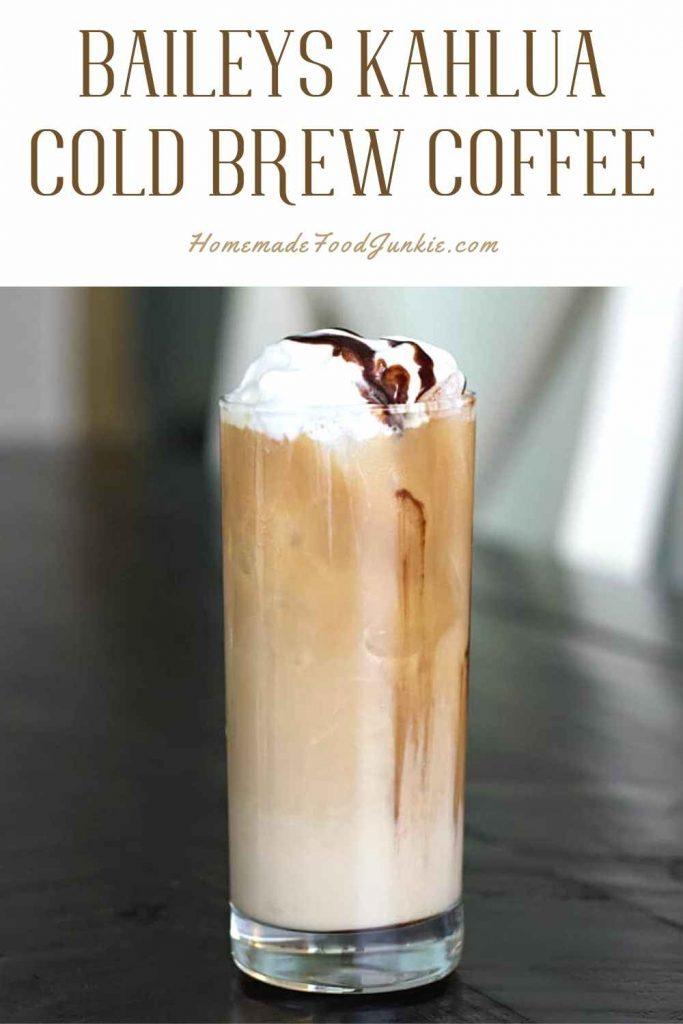 Baileys Kahlua Cold Brew Coffee-Pin Image