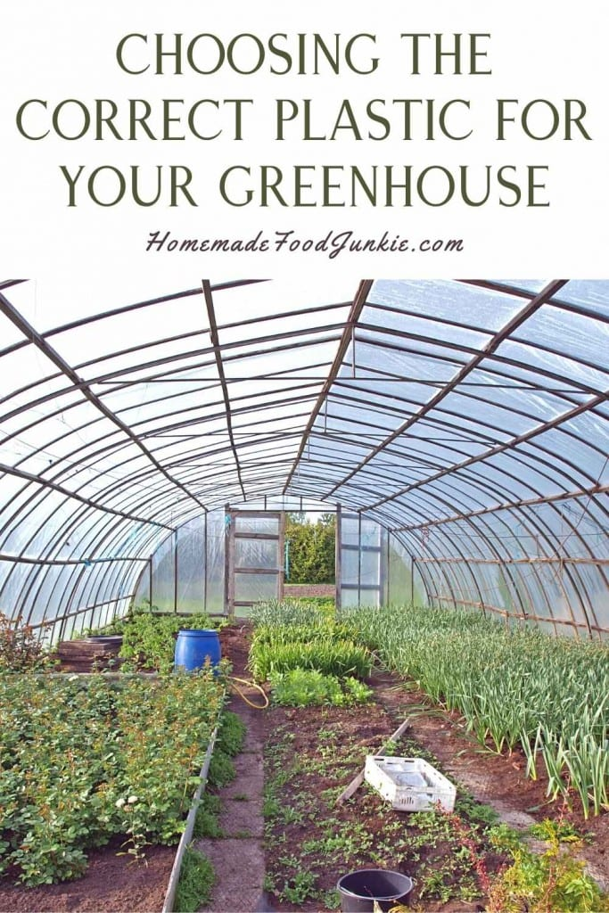 Choosing The Correct Plastic For Your Greenhouse-Pin Image