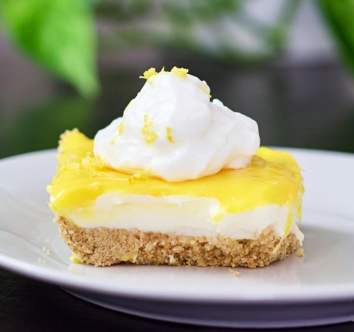 Lemon Cheesecake Bars 4